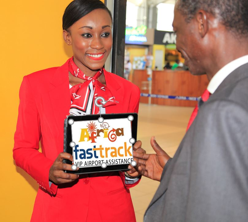 Kenya Nairobi Airport Fast Track